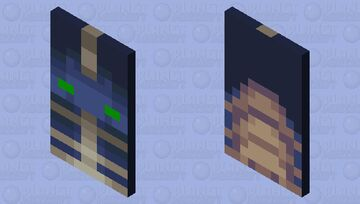 Phantom Cape & Elytra Minecraft Mob Skin