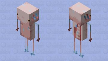 Heat Axolotlin Minecraft Mob Skin