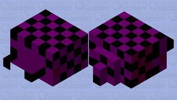 checkerboard hysterimite Minecraft Mob Skin