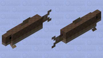 Cod Salmon Minecraft Mob Skin