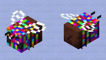 Confetti Celebration Bee! Minecraft Mob Skin