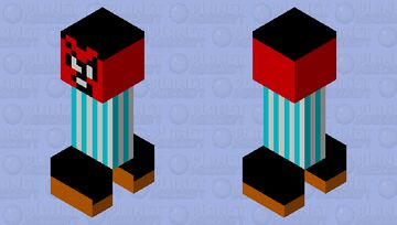 Angry Disney employee Minecraft Mob Skin