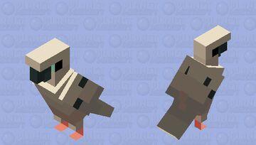 [Kari] Fujishiro Nageki (Mourning Dove) Minecraft Mob Skin