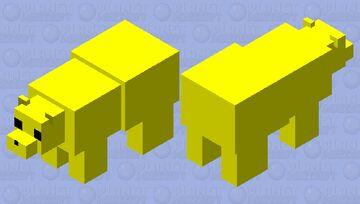 Golden Freddy Bear Minecraft Mob Skin