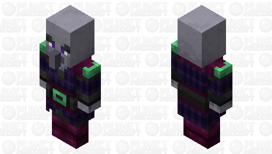 Ender Pillager Minecraft Skin
