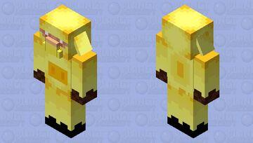 armored piglin (800 downlands special) Minecraft Mob Skin