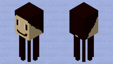 a face Minecraft Mob Skin