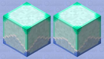 Arctic Shulker Minecraft Mob Skin