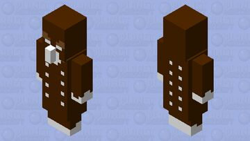 Gingerbread Vindicator Minecraft Mob Skin