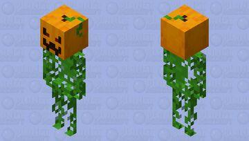 Walking Pumpkin - Spooktober Community Event Minecraft Mob Skin