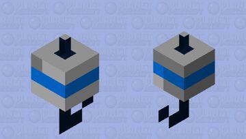 Blue fishing bobber Minecraft Mob Skin