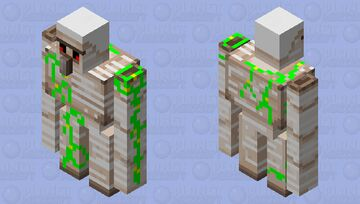 brighter golem Minecraft Mob Skin