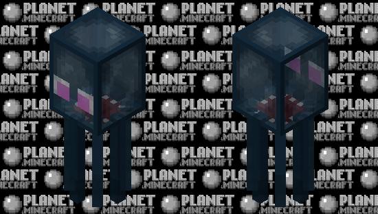 Transparent squid Minecraft Mob Skin
