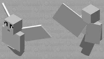 angle Minecraft Mob Skin