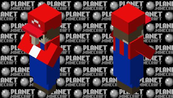 It's-A-me, Villgario! Minecraft Skin