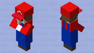 It's-A-me, Villgario! Minecraft Mob Skin