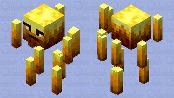 This Blaze is wierd Minecraft Mob Skin