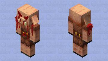 Death Piglin Minecraft Mob Skin