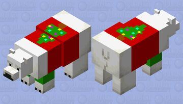 Christmas  bear Minecraft Mob Skin