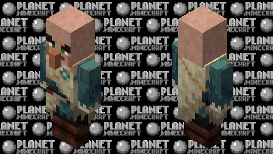 snow pillager Minecraft Skin