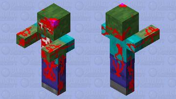 True Zombie Minecraft Mob Skin