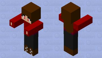 Normal Human Girl Zombie.. - 💟 (¬‿¬) Minecraft Mob Skin
