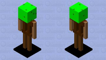 Tree armor stand Minecraft Mob Skin
