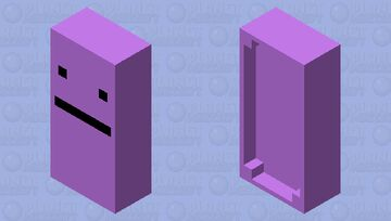 Just a Normal Bed Minecraft Mob Skin