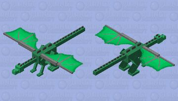Vine Dragon Minecraft Mob Skin