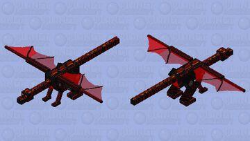 Hyper Tech Dragon Ultra Minecraft Mob Skin