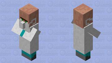 Doctor villager Minecraft Mob Skin