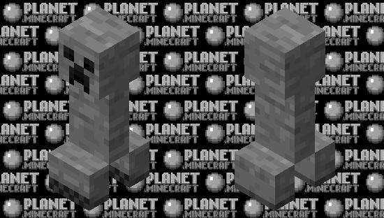 Cave Creeper Minecraft Skin