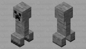 Cave Creeper Minecraft Mob Skin
