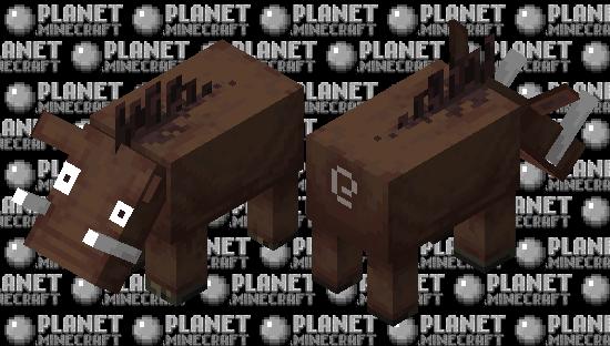 Hoglin but no go away Minecraft Skin