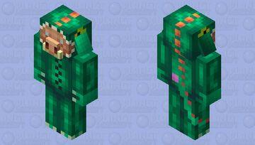 Dino onesie piglin Minecraft Mob Skin