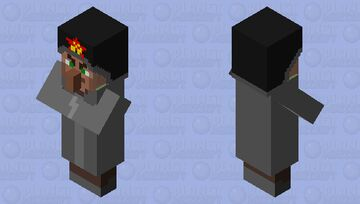 villager from the far away lands Minecraft Mob Skin