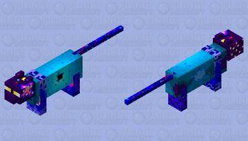 Galaxy Cat Minecraft Mob Skin