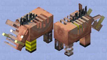 hoglin brute skeleton Minecraft Mob Skin
