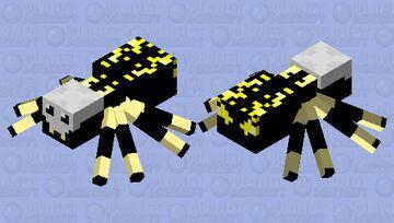 argiope aurantia (sorta) Minecraft Mob Skin