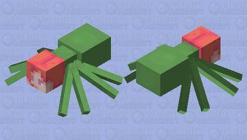 kakyoin spider Minecraft Mob Skin