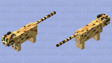 Cheetah Minecraft Mob Skin