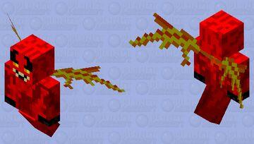 Hex Demon Minecraft Mob Skin
