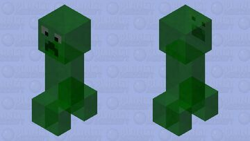Ghost creeper Minecraft Mob Skin