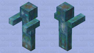 Fungbi (fungus zombie) Minecraft Mob Skin