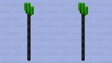 Iskallium Trident Minecraft Mob Skin