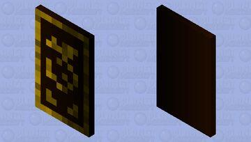 Gold Dragon Cape Minecraft Mob Skin