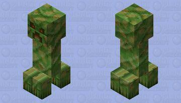 Realistic Creeper Minecraft Mob Skin