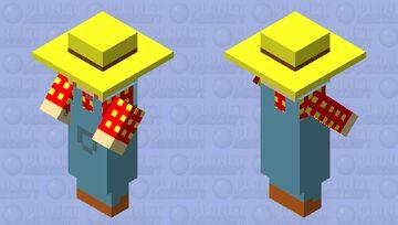 Scribblenauts - Farmer Minecraft Mob Skin