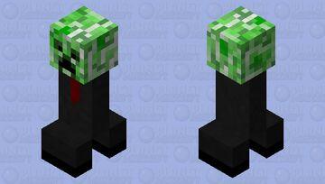 Buissnes creeper Minecraft Mob Skin