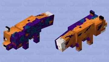 Tech corruptet fox (ARK Extinction Fox) Minecraft Mob Skin